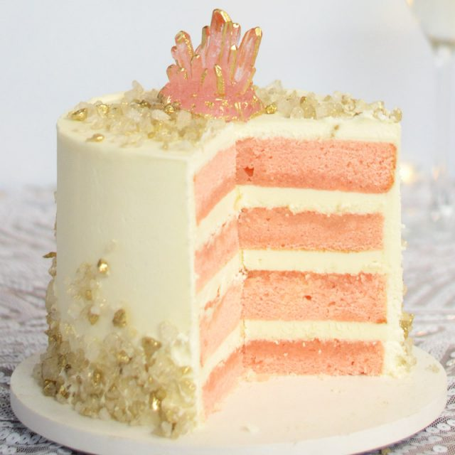 Pink Champagne Cake Recipe