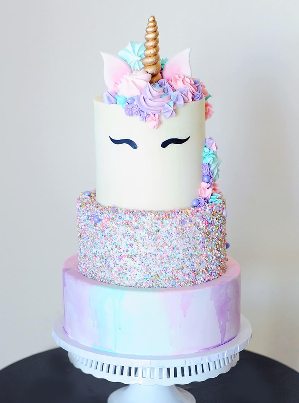 caked by cynthia white ganache