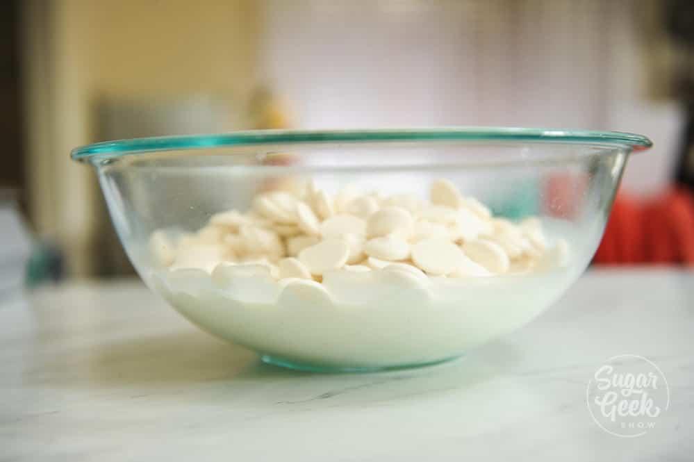 white chocolate ganache ratio