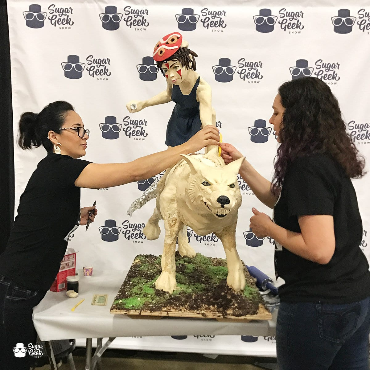 Princess Mononoke Cake Showpiece