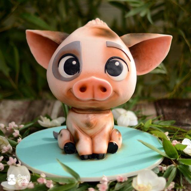 Pua Pig Moana Cake