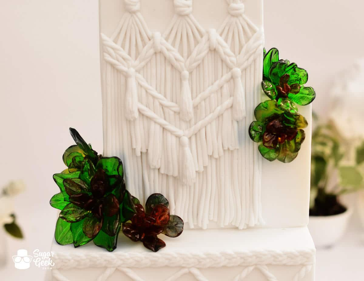 Macrame Wedding Cake