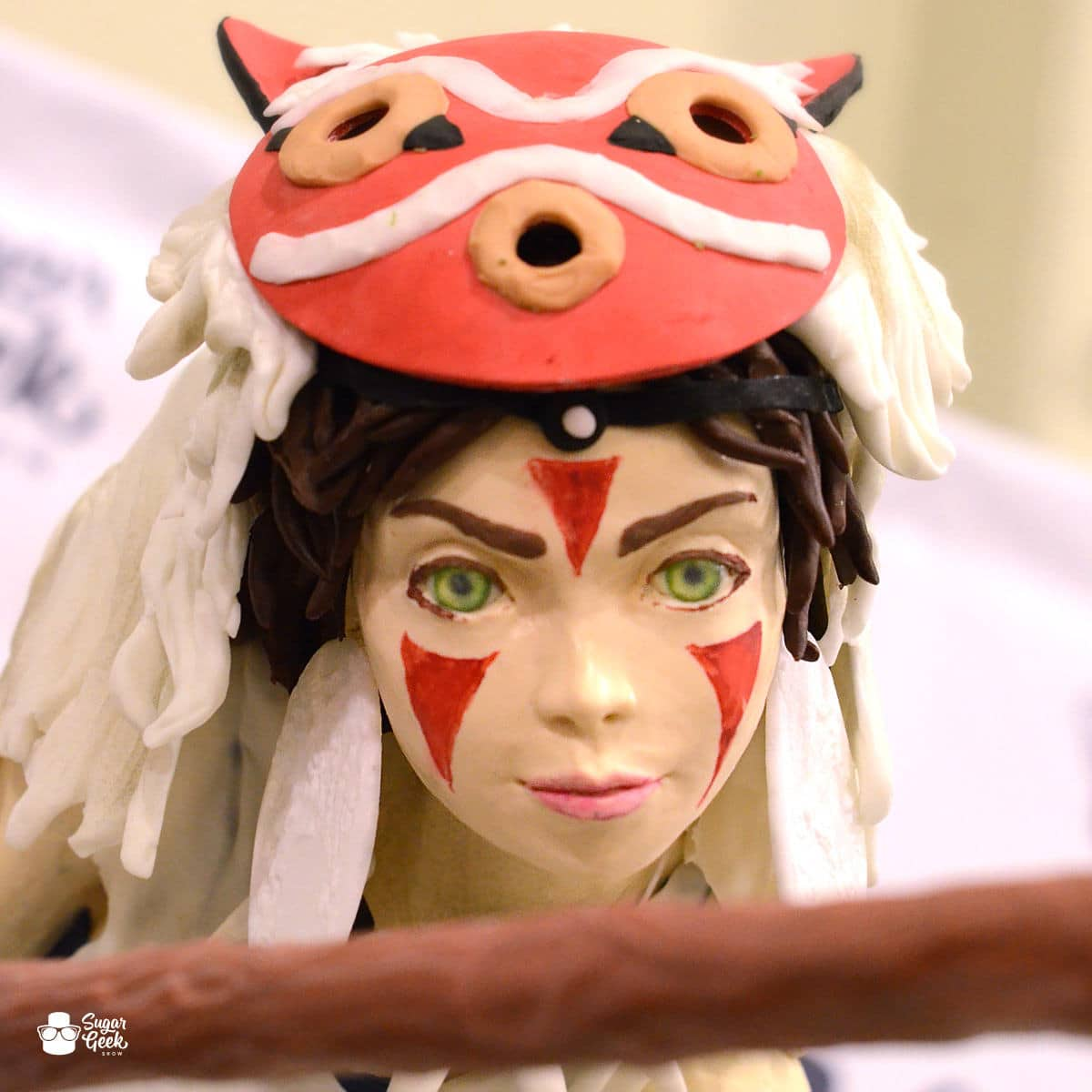 Princess Mononoke Cake Showpiece Tutorial