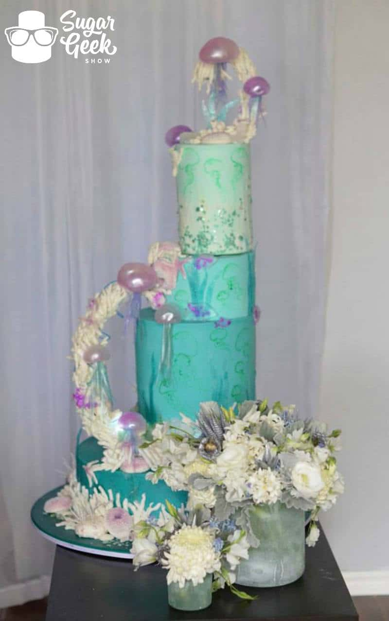 3 Gravity Defying Wedding Cakes That Will Blow You Away