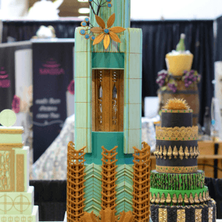 Art Deco Wedding Cake Benny Rivera