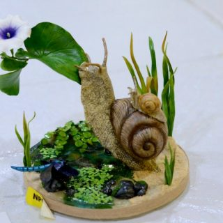 Snail Sugar Art