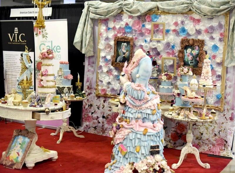 Marie Antoinette Sugar Installation
