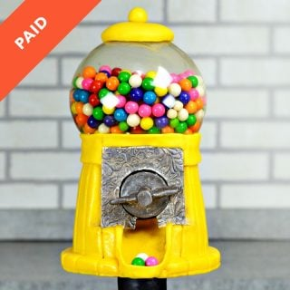 Working Gumball Machine Cake Tutorial