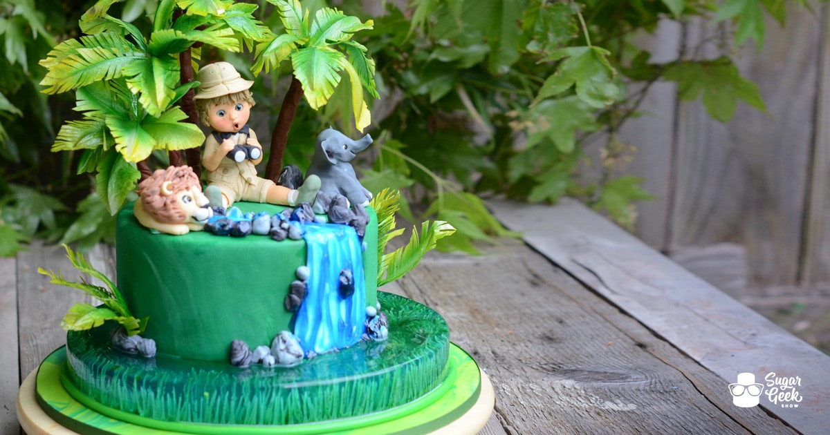 Jungle Safari Gelatin Cake