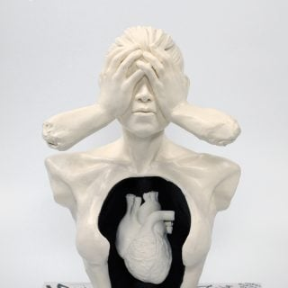 Anxiety Sugar Sculpture Liz Marek