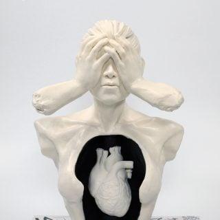 Anxiety Sugar Sculpture Liz Marek