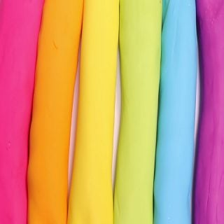 Rainbow Fondant