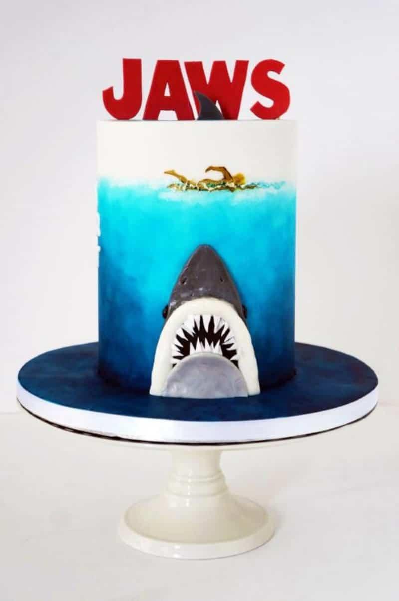 Jaws Shark Cake