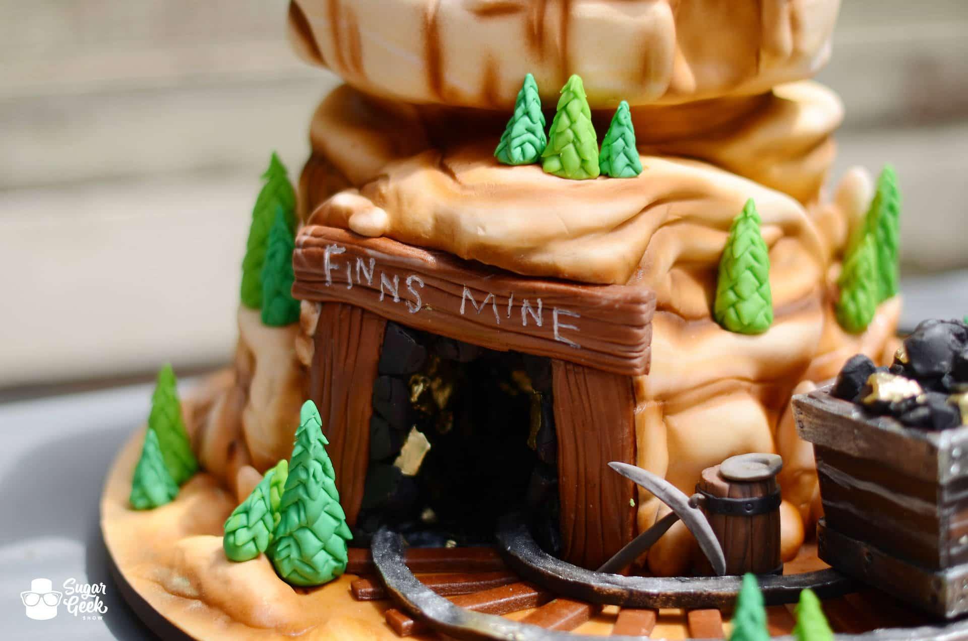 Gold Mine Cake