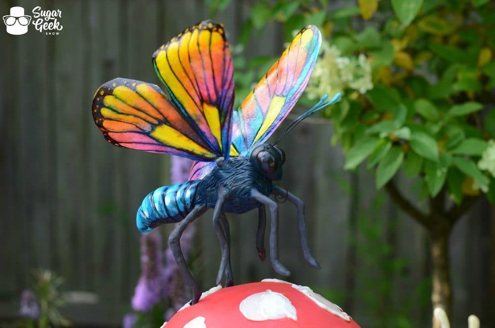 Sugar Butterfly Cake