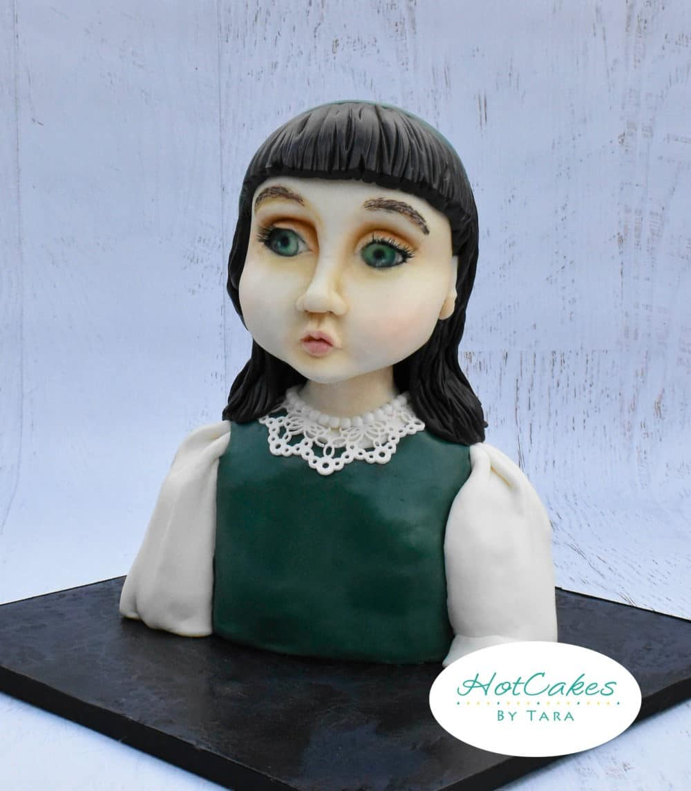 Sculpted Girl Cake