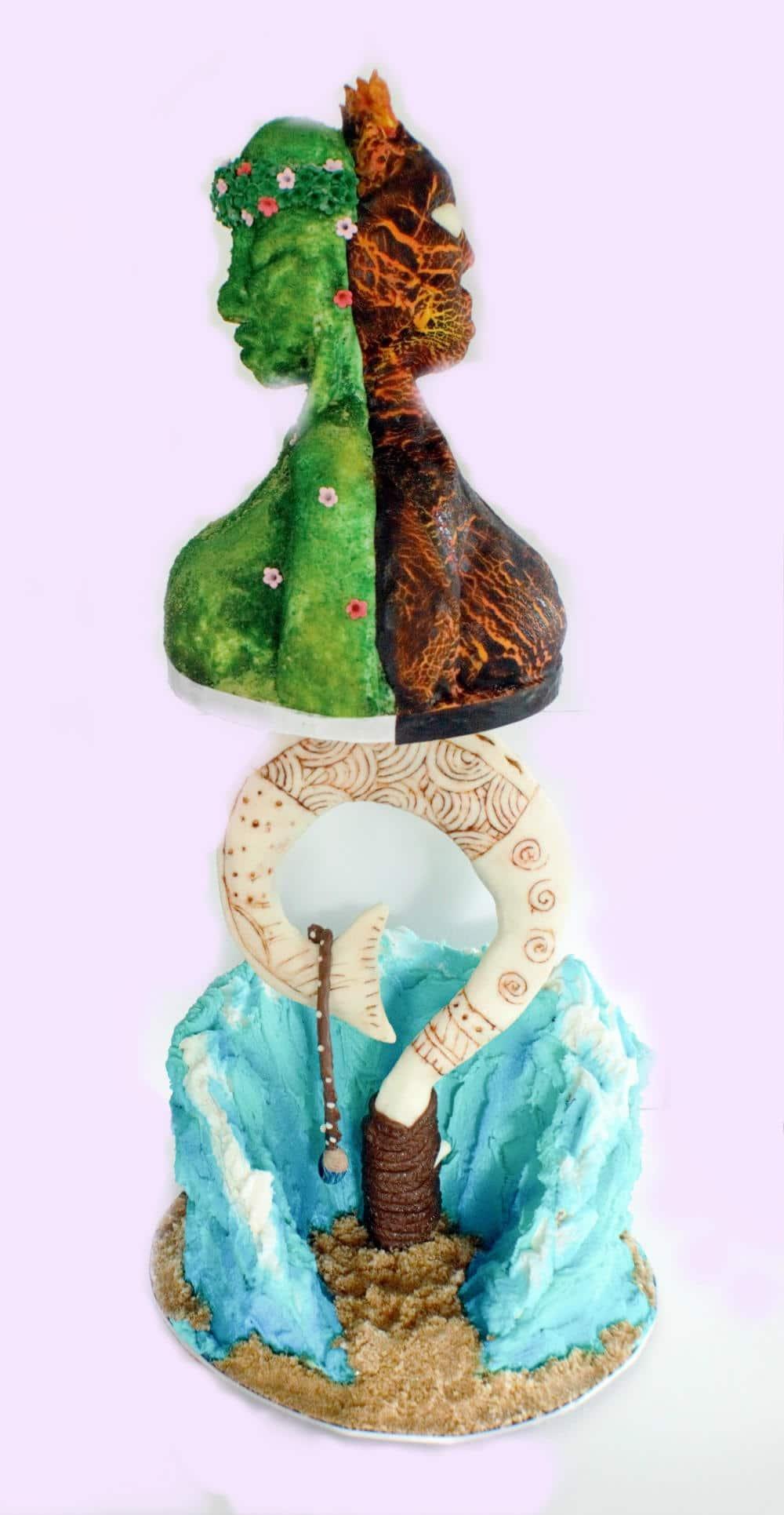 Amazing Moana Cake Te Fiti Te Cake Maui's Hook
