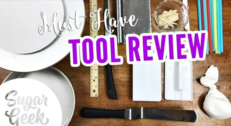 Cake Decorating Basic Tool Review
