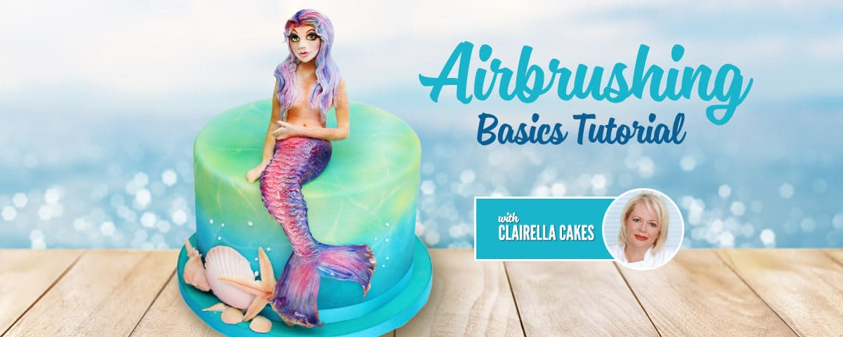 Cake Airbrushing Basics Tutorial