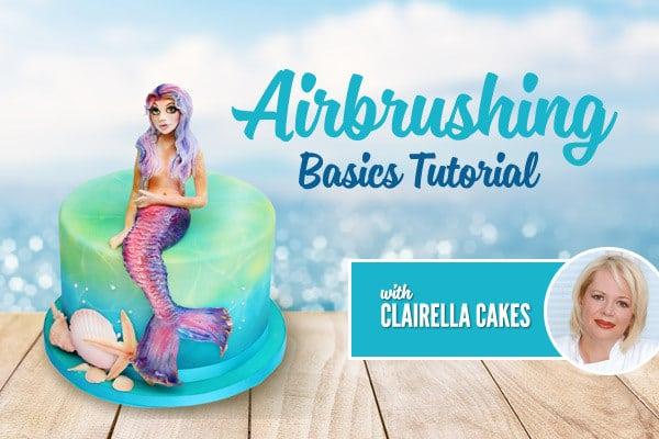 Cake Airbrushing Tutorial