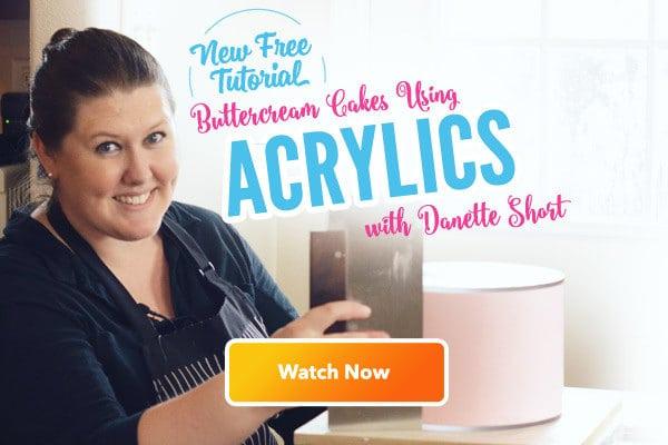 Buttercream Acrylics Tutorial