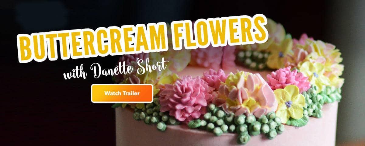 Buttercream Flowers Tutorial