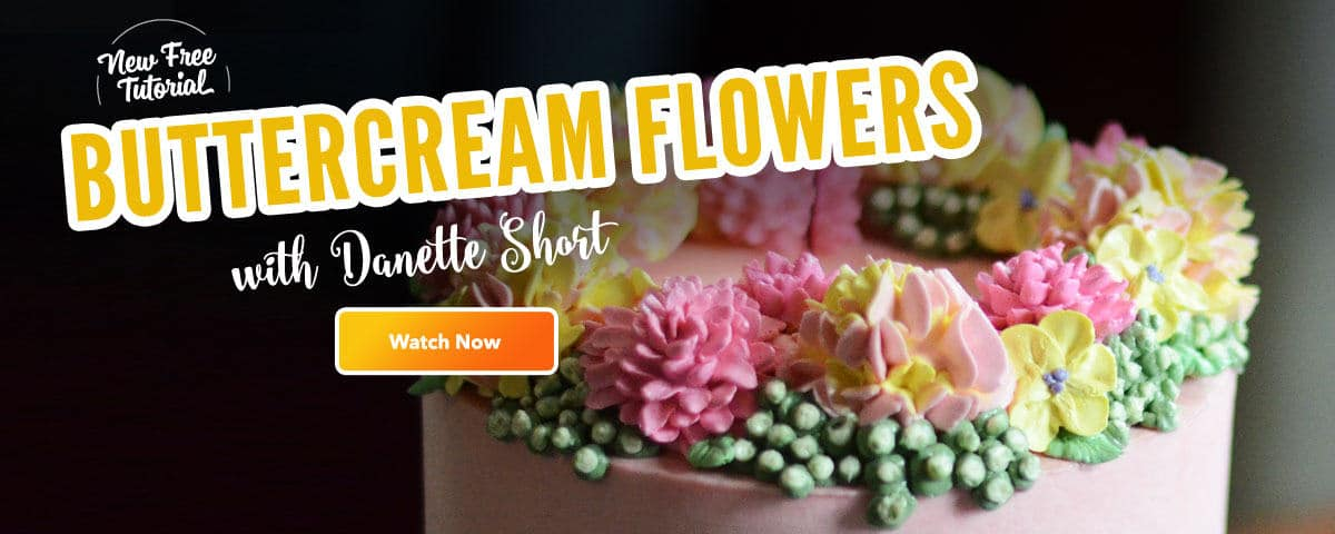 buttercream flower tutorial