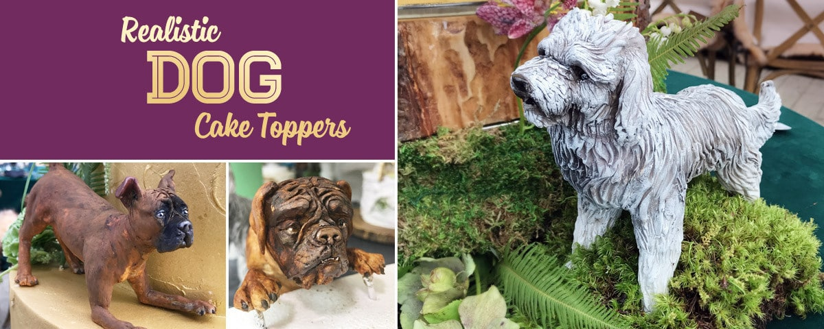 Dog Cake Toppers Tutorial