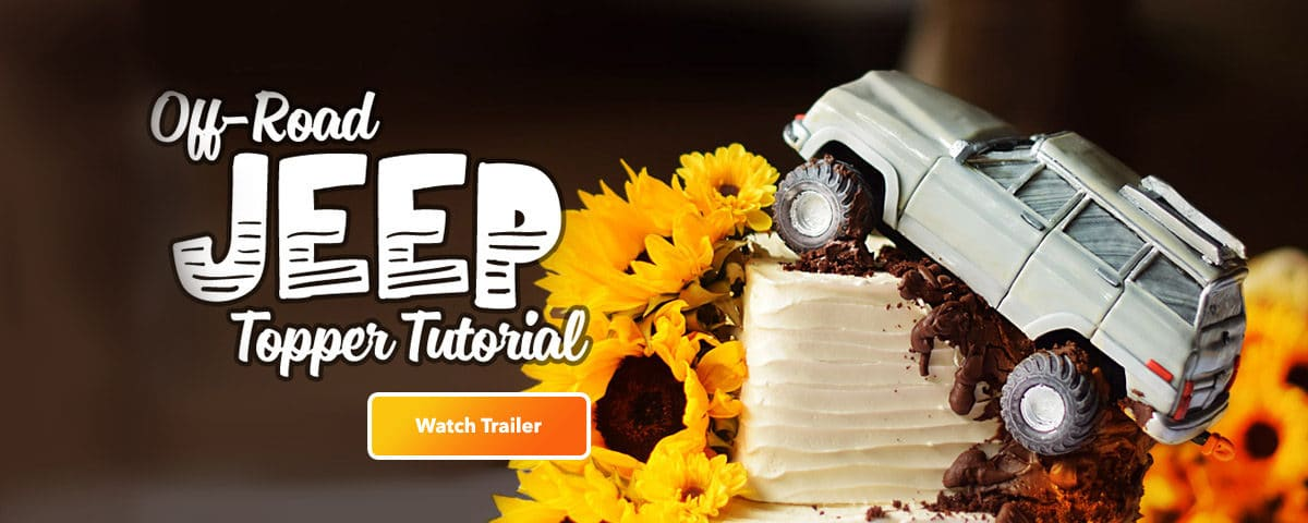 Jeep Cake Topper Tutorial