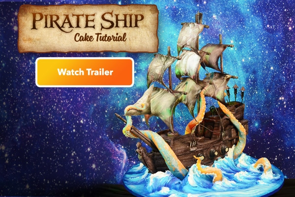 Pirate Ship Cake Tutorial