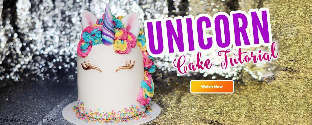 Unicorn Buttercream Cake Tutorial