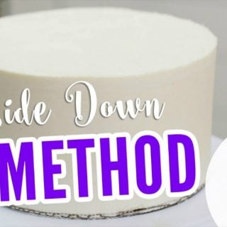 How to do the upside down method