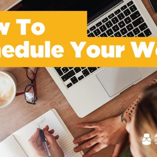 how to schedule your cake work week
