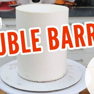 How to make a double barrel cake