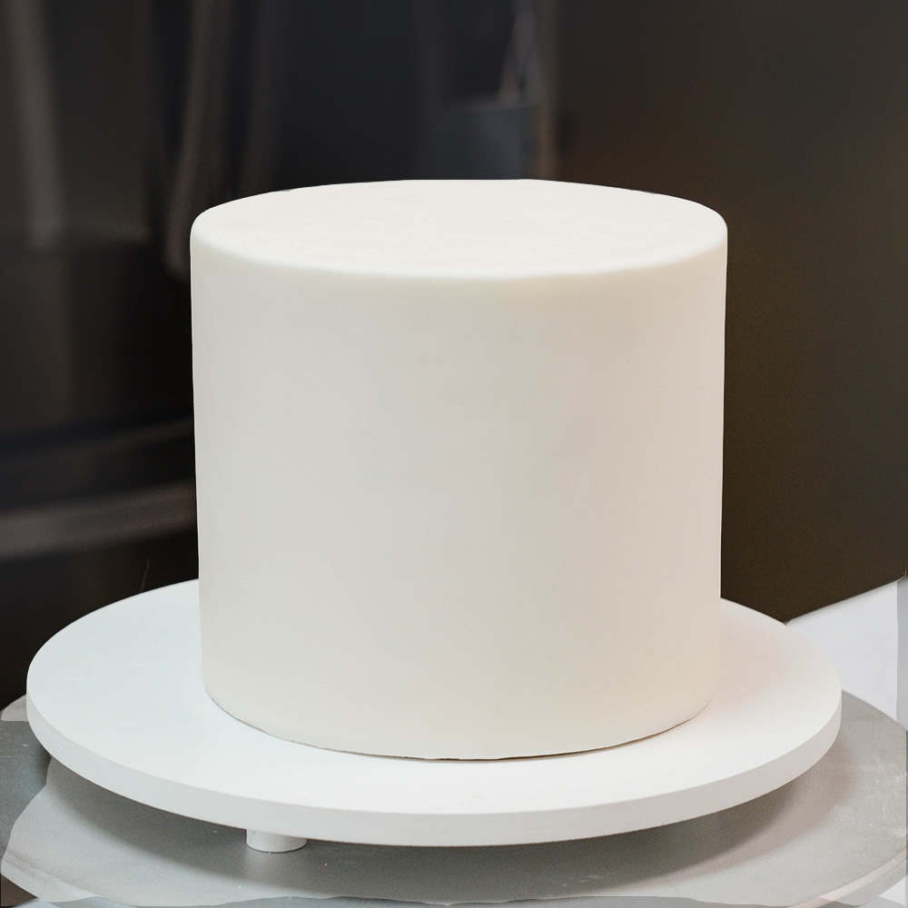 How to get sharp fondant edges on your cake