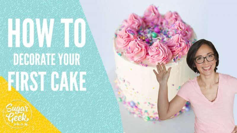 how to make a cake tutorial