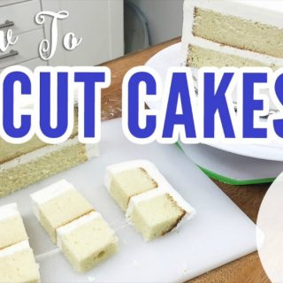 How to cut cakes