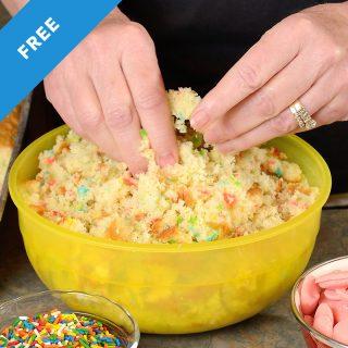 Cake Pop Dough Recipe
