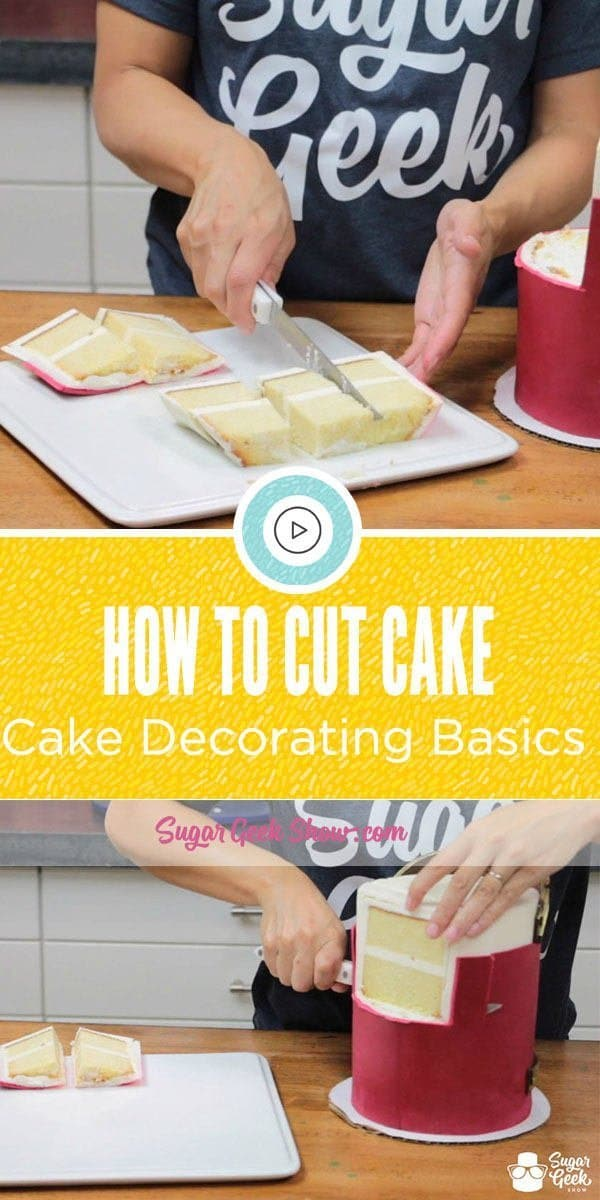 How To Cut Cake