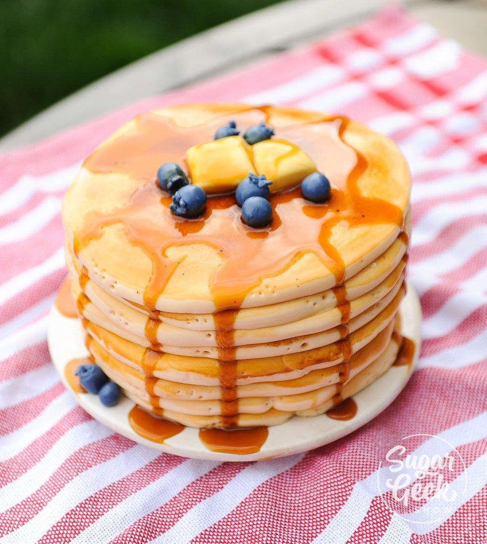 Pancake Cake Flavored Recipe