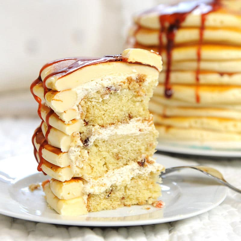 Pancake Cake Flavored Recipe