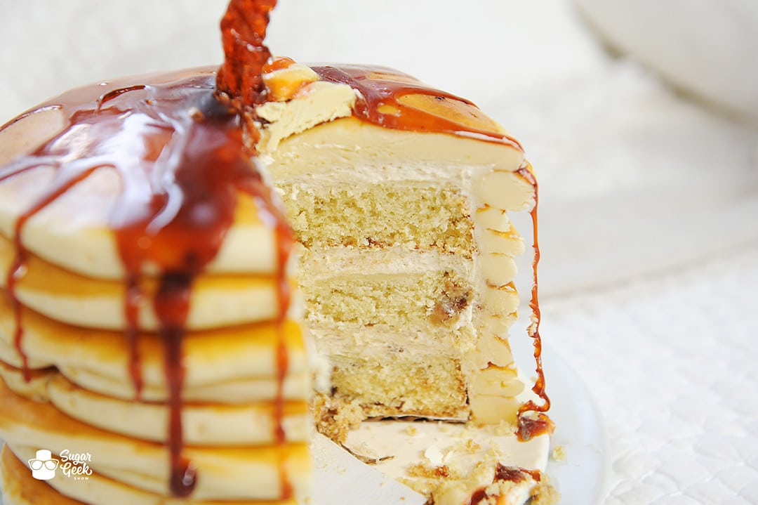 the best pancake flavored cake recipe