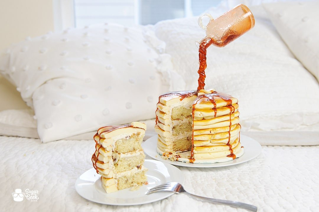 pancake flavored cake recipe