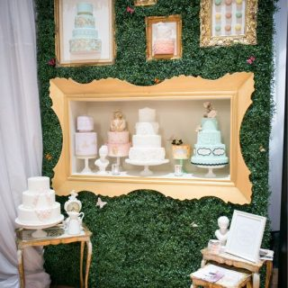 bridal show booth idea frame