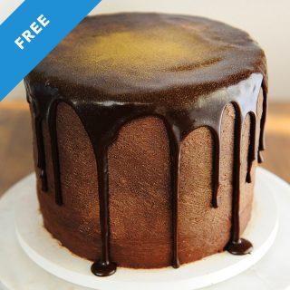 black velvet chocolate cake