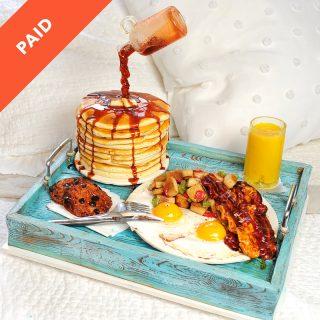 Breakfast in Bed Cake Tutorial