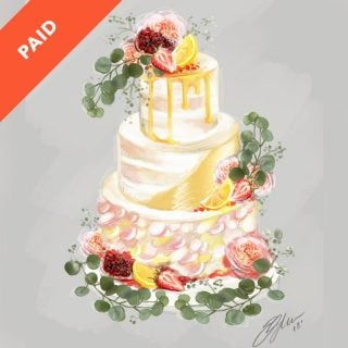 Cake Sketching Tutorial