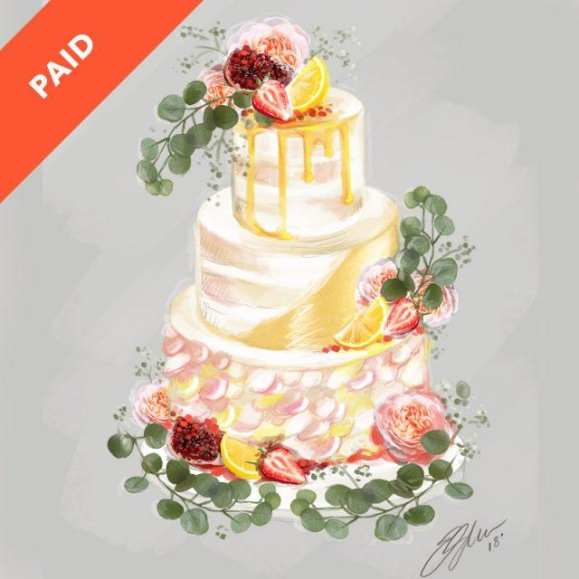 Cake Sketching Tutorial