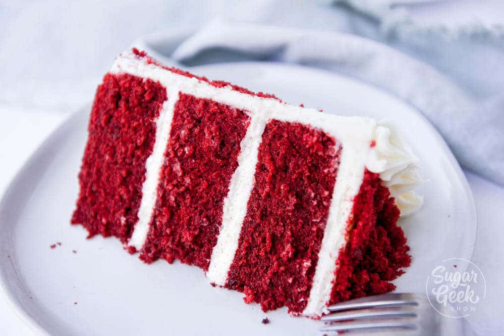 real red velvet cake recipe with buttermilk and vinegar