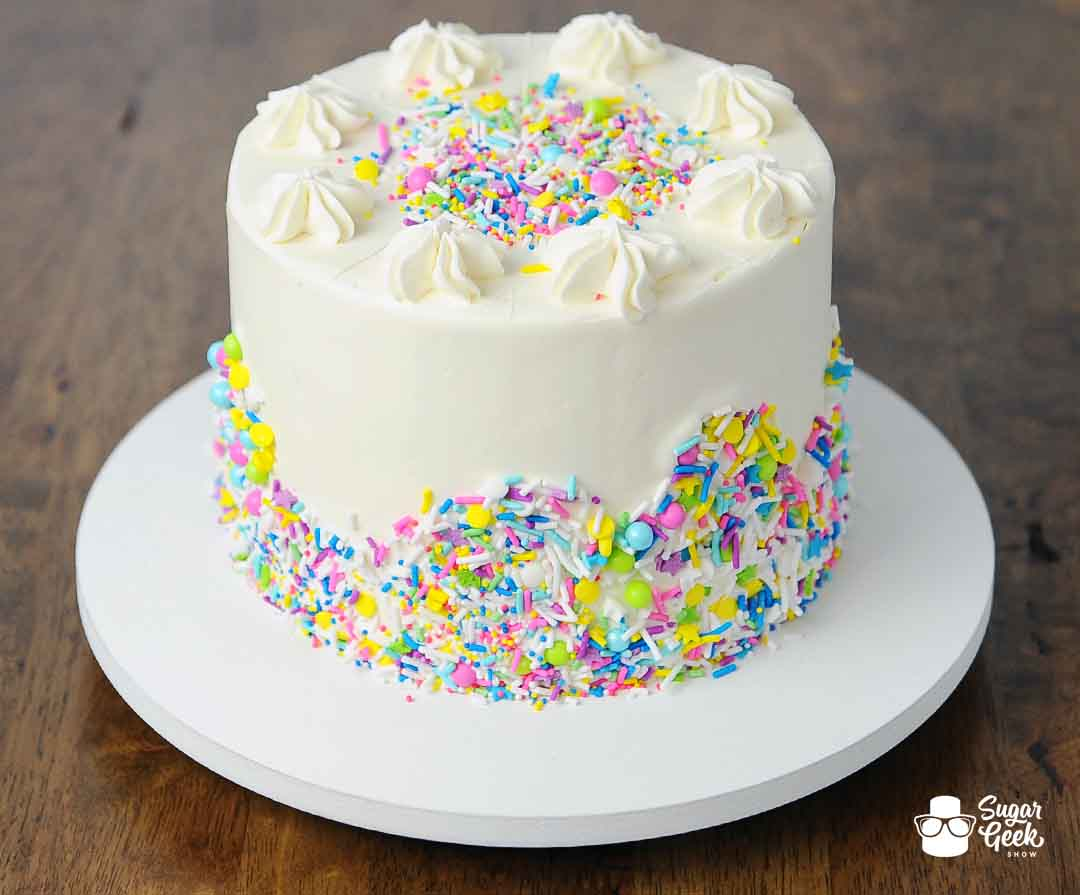 Amazing Vanilla Sculpted Cake Recipe From Scratch Sugar Geek Show Funny Birthday Cards Online Elaedamsfinfo